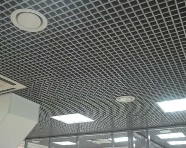 Монтаж подвесного потолка Грильято Воронеж