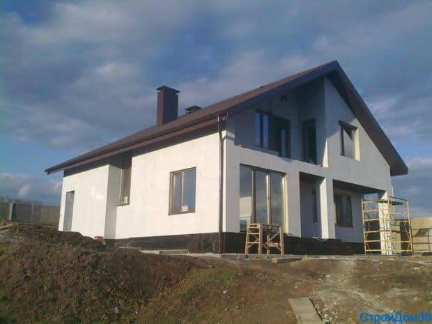 Строительство дома из газосиликатных блоков Воронеж