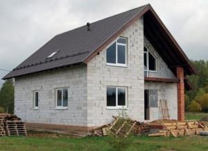 Строительство дома из газосиликата под ключ
