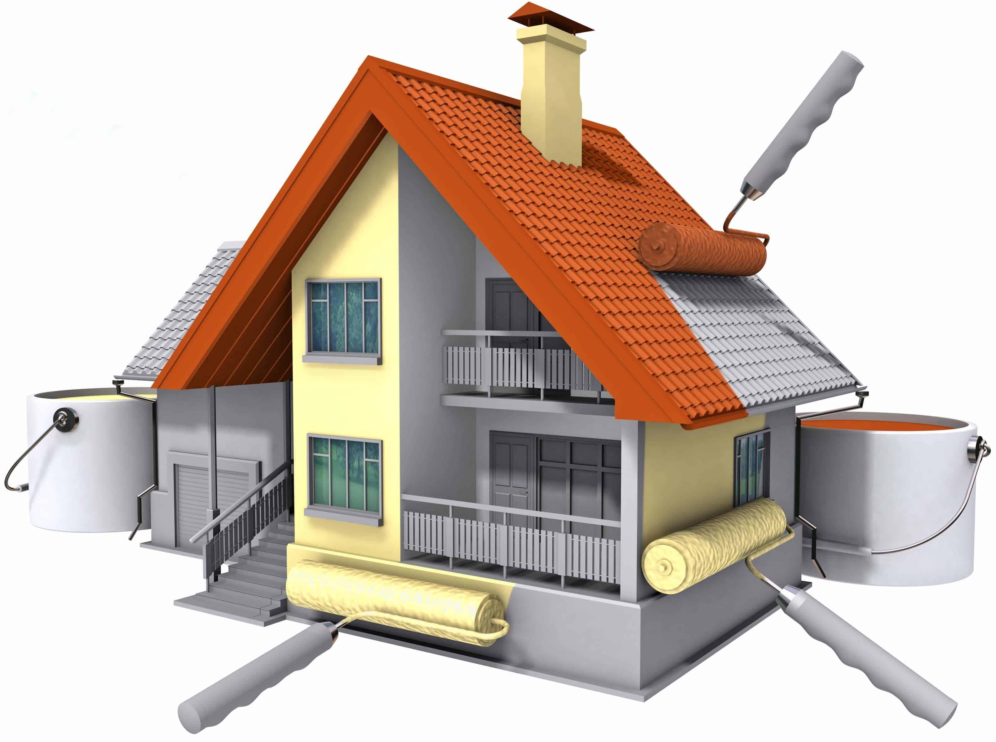 Отделочные и малярные работы при строительстве дома