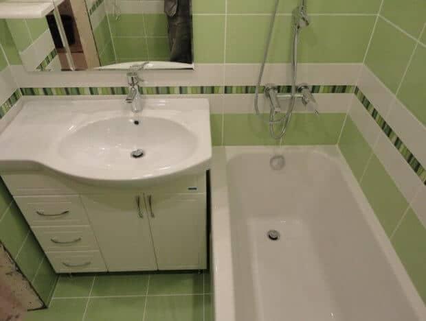 Ремонт ванной комнаты Воронеж недорого