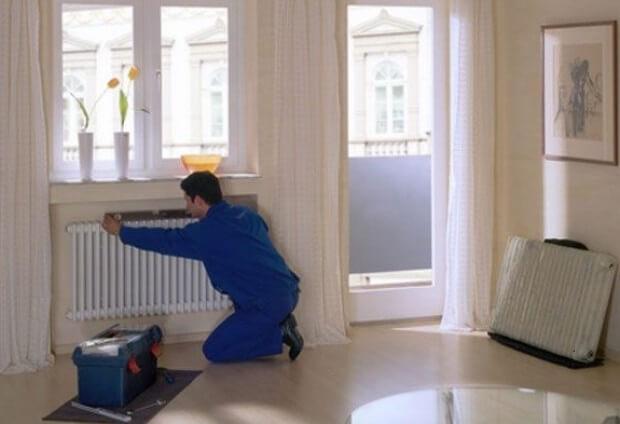 Замена батарей радиаторов отопления в квартире Воронеж