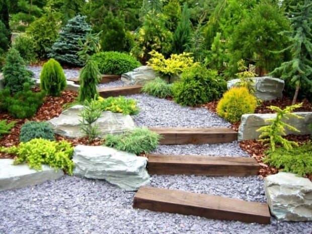 Садовый ландшафтный дизайн в Воронеже