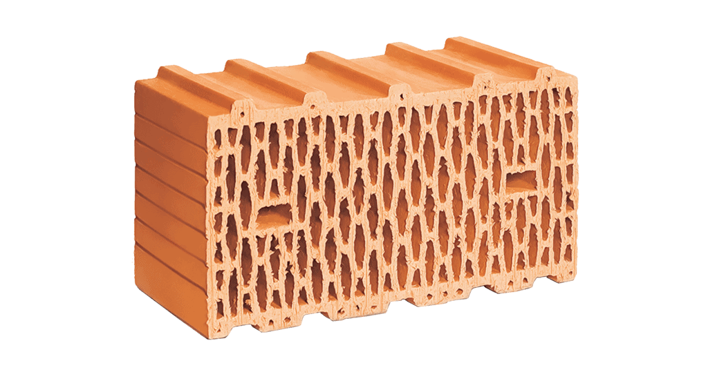 Керамический блок ЛСР 510 мм теплый