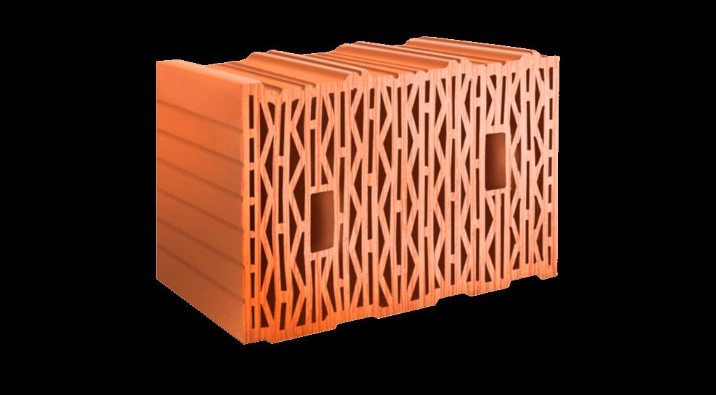 Керамический блок ЛСР 380 мм теплый